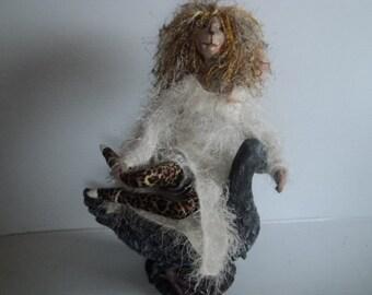big sis soft sculptured art doll
