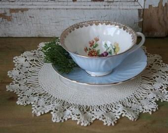 Vintage Cotton and Lace DOILY