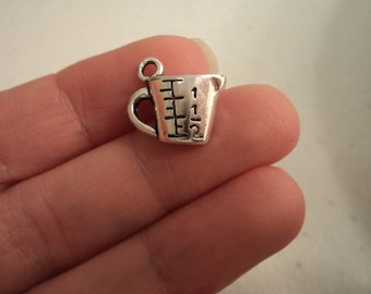 Measuring Cup - Set of 6 charms - #MN103