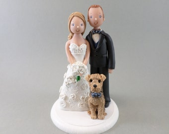 Customized Bride & Groom Wedding Cake Topper
