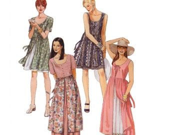 McCalls 8157 Sewing Pattern - Misses Dress Sewing Pattern - Dress in Two Lengths