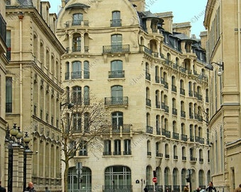 Streets of Paris Architectural Buildings Fine Art Paris France Original Photo Print