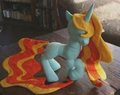 Princess Pony Plush Sewing Pattern with Unicorn Horn and Pegasus Wings (Plushie, Stuffed Toy, digital PDF)