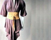 Long cardigan blouse
