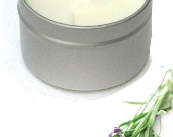 English Lavender Soy Massage Candle