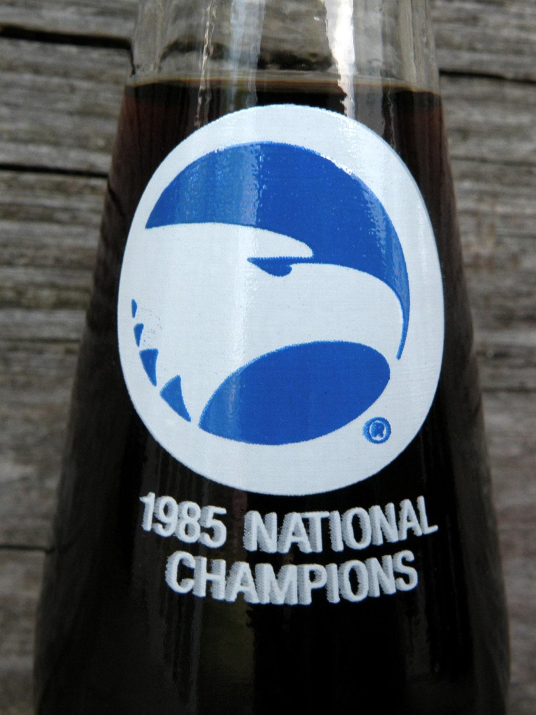 Georgia Southern Eagles 1985 Vintage Coke Bottle