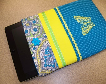 iPad Air sleeve also iPad 2,3,4, Tablet Sleeve Cover pdf Pattern Easy to make, with instant Download