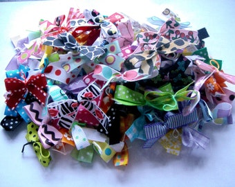 24 Assorted XSmall - Small Doggie Bows