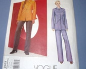 Vogue 2463  American Designer BILL BLASS Pattern Size 8-10-12 Uncut