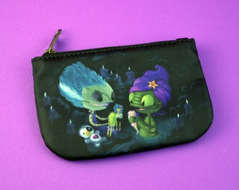 Truly Outrageous - Monster Girls Playing with Jem Dolls - Coin Purse
