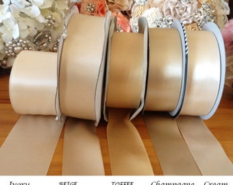 Ribbon swatches / samples  - check ribbon color for your Rhinestone Bridal belt