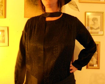 """1920's, 44"""" bust, two piece dress,"""