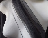 Black English Net from the UK for Bridal, Costumes, Gowns, Veils, Birdcage Veils, Garters, Hats