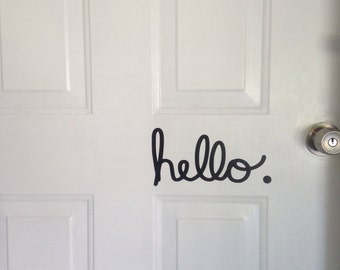 Hello. Decal