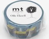 New -mt washi masking tape - designer collection - mt x Olle Eksell - skansen houses