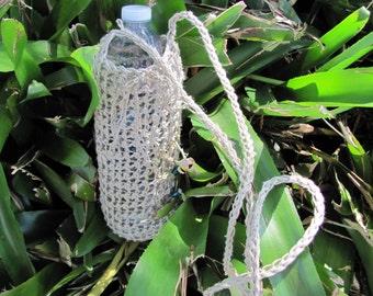 Organic Hemp Water Bottle Carrier