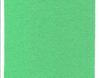 Pure Wool Felt Sheet - Light Mint - Mint Green - Half Metre / Quarter Metre - EN71