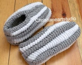 Phentex house shoes slippers hand knitted for men and women