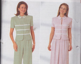 Butterick 4914 Misses' Top, Skirt and Pants Sizes 12, 14, 16 Jessica Howard Design UNCUT Pattern Rare and OOP