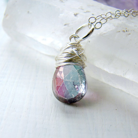 One Loom Studio Mystic Quartz Pendant