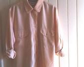 RESERVED for ROSE-ANN 3 x vintage silk shirts - medium/large