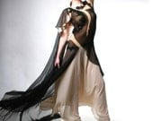 French Noir Evening Gown Size Small
