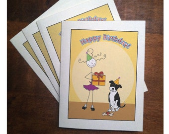Panny B-Day Note Cards (set of 4)