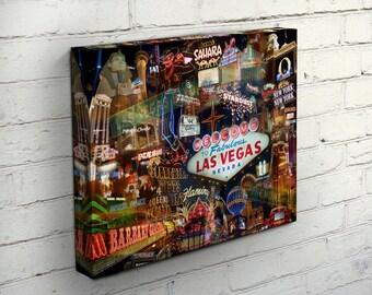 Viva Las Vegas Canvas - Las Vegas, NV