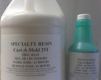 Rtv silicone rubber for mold making 1/2 Gallon.