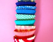 Ombre Stack of Cupcake Liners (50)