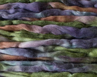 Cotton roving for spinning - Deep Woods, 1 oz