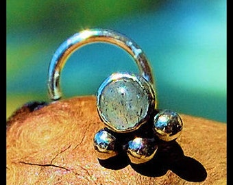 Delicious Labradorite Nose Stud - CUSTOMIZE