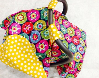Baby Car Seat Cover Canopy-READY TO SHIP-baby car seat cover tent