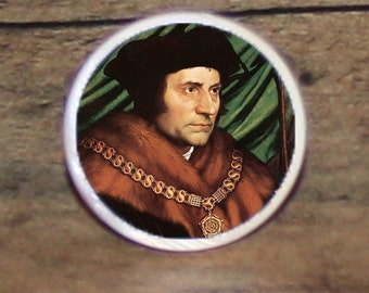Sir Thomas More Tie tack or Cuff links or Ring or Pendant or Brooch