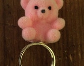 Bear-y cute ring in pink