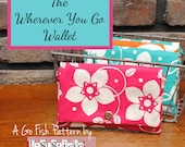 The Wherever You Go Wallet (Instant Download) The Go Fish Series