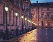 Paris Photography, Louvre Museum Lanterns Lamps, Paris Louvre Night Lights, Paris Wall Art Prints, Paris Louvre Lanterns, Paris Wall Decor