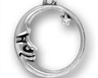 Add On - Sterling Silver Moon Charm
