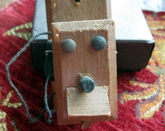 Vintage Miniature Wall Telephone General Store or Dollhouse