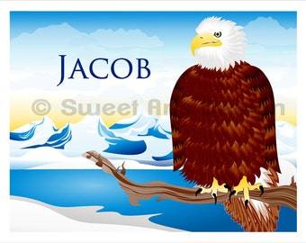 Eagle -  Wall Print  (or)  Greeting Cards
