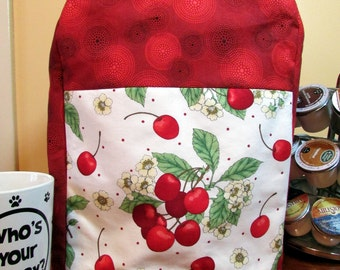 Cherry Pie Red Keurig Cover-fits Elite/Platinum-great gift for coffee ,tea lover