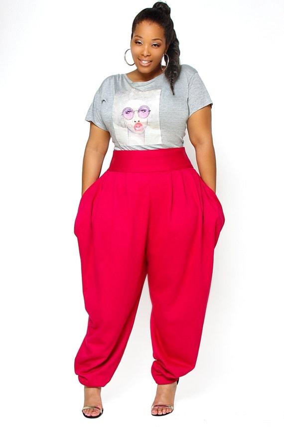 Innovative Wide Leg Skirts Pants Casual Female Trousers Plus Size Split Skirt