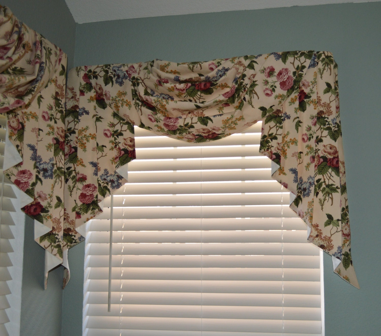 Formal Swag And Jabot Valances In A Variety Of Fabric Choices