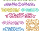 Vintage Vine Ornaments Photoshop Brushes for personal and limited commercial