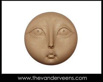 Mold No.167 (Moon Face- flater) by Veronica Jeong