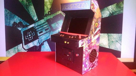 Dollhouse miniature real working arcade machine, 1/12 scale