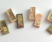 1/12 Scale Miniature Vintage Perfume Boxes