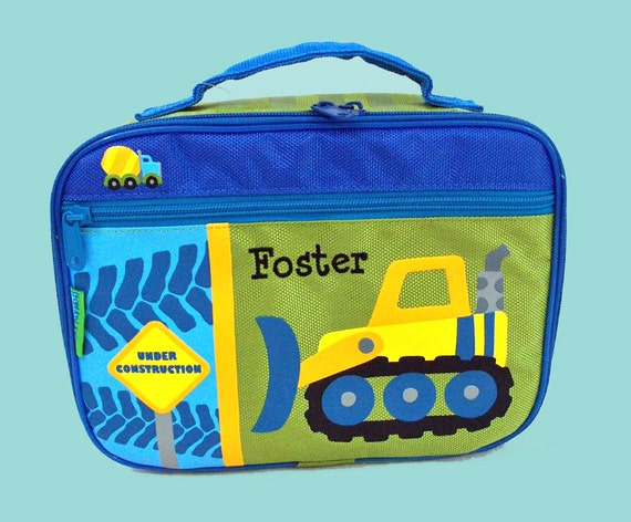 Stephen Joseph CONSTRUCTION Lunchbox-Personalized