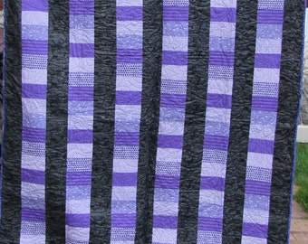 Purple Coin Quilt