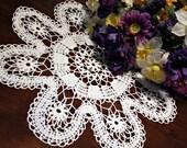 Beautiful  White  Crochet  doily